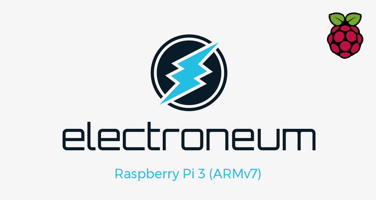 Electroneum on Raspberry Pi 3